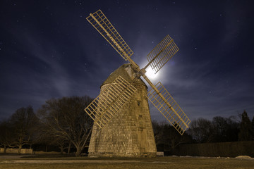 Windmill at Night