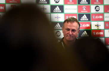 2018 World Cup Qualifications - Europe - Northern Ireland Press Conference