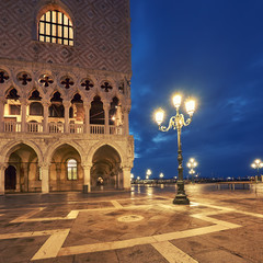 San Marco Square in the morning in Venice, Italy