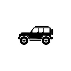 Off-road car icon. Transport elements. Premium quality graphic design icon. Simple icon for websites, web design, mobile app, info graphics
