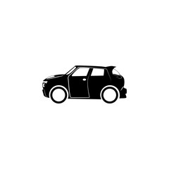 car crossover icon. Transport elements. Premium quality graphic design icon. Simple icon for websites, web design, mobile app, info graphics on white background