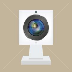 webcam icon. vector