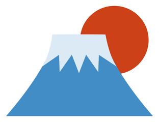 富士山のイラスト素材