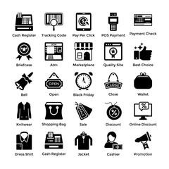 Set Of Shopping Icons 2