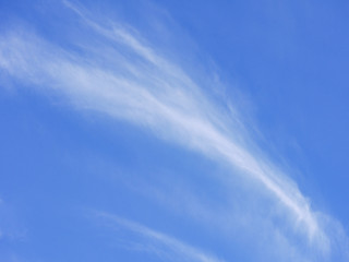 cloudy beautiful blue sky background