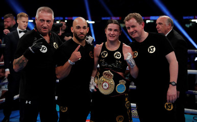 Anahi Esther Sanchez vs Katie Taylor - WBA Womens World Lightweight Title