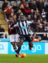 Newcastle United v Aston Villa - Barclays Premier League