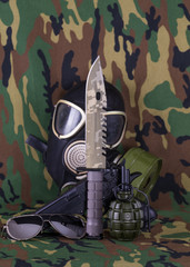 military concept, military equipment