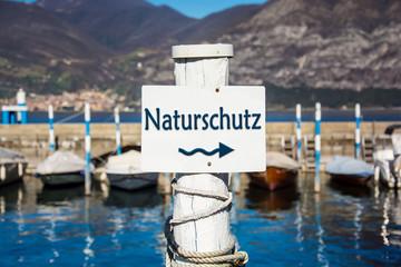 Schild 232 - Naturschutz