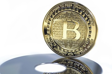 Bitcoin coin virtual cryptocurrency