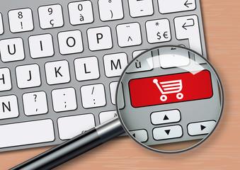 e commerce - achat - achat en ligne - internet - arnaque - fraude - escroquerie - web - risque