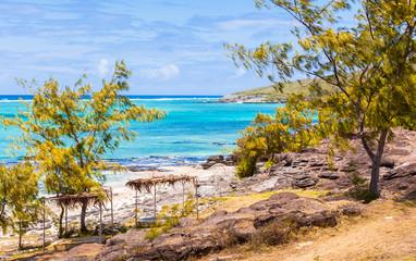 anse Saint-François, côte est, île Rodrigues, Maurice