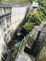 Kawamata Dam in Tochigi prefecture of Japan.