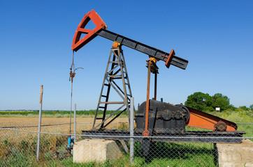 Oil well near Tyulenovo village, Bulgaria