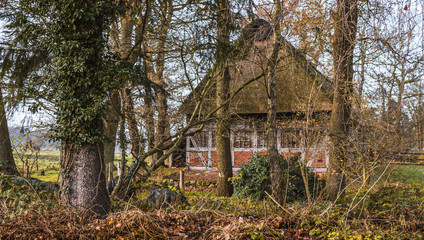 Fachwerkhaus im Teufelsmoor bei Bremen