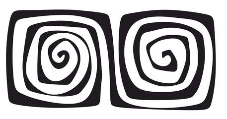 Printed kitchen splashbacks Spiral spirale0812a