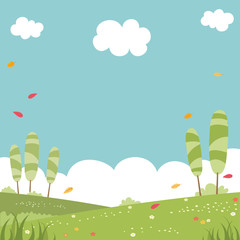 Landscape Vector Illustration