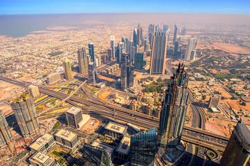 Panorama cittadino di Dubai