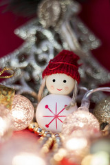 white christmas toy