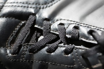 Close-up of cleat
