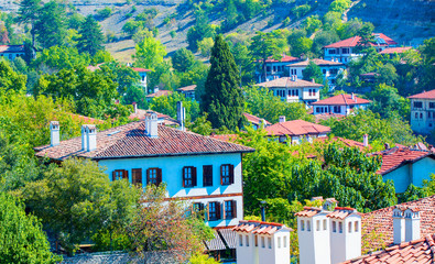 Traditional ottoman houses in Safranbolu, Turkey