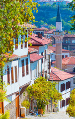 Traditional ottoman houses in Safranbolu, Turkey