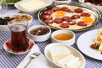 Delicious Turkish breakfast is waiting for you