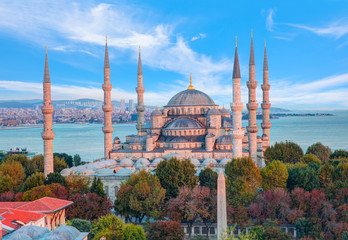 The Blue Mosque, (Sultanahmet Camii), Istanbul
