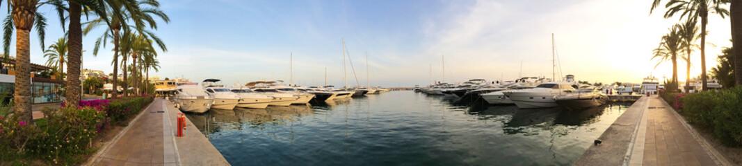 Hafen in Puerto Portals, Mallorca