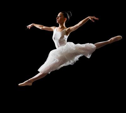 Ballerina (isolated on black version)