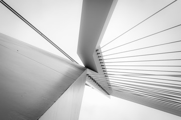 Abstract architecture in black and white Fotomurales