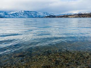 Winter on Lake Chelan, Washington state