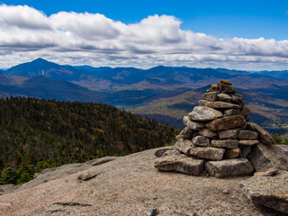 Rock Cairn, High Peaks, Adirondacks, Mountain Summit