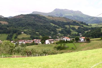 Naturaleza en Vera de Bidasoa,villa de la Comunidad Foral de Navarra  en la merindad de Pamplona (España), en la comarca de Cinco Villas