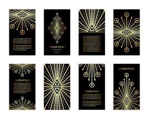 Sacred geometry flyers