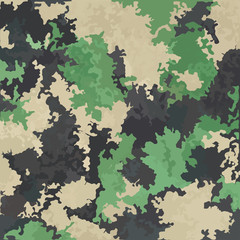 Vector background of camouflage colors