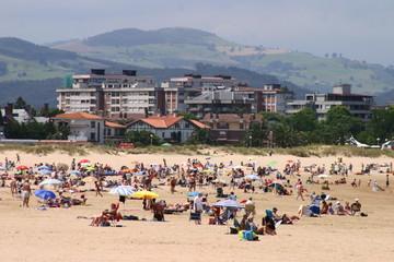 Playa de Laredo en Cantabria (España)