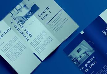 Mise en page de brochure de cours