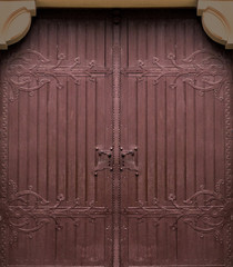 wooden gate old