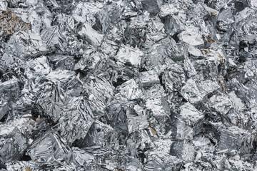 Recycled blocks of aluminium
