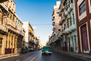 Driving in Havana