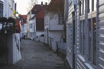 Alleys of Bergen, Norway