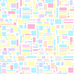 Background. Seamless texture. Universal pattern. Abstract geometric wallpaper. Geometric art. Print for textiles, fabrics, polygraphy, posters. Greeting cards. Cute texture. Pastel colors