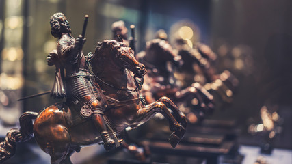 Horse Carving Statue