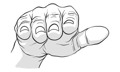 hand activity vector