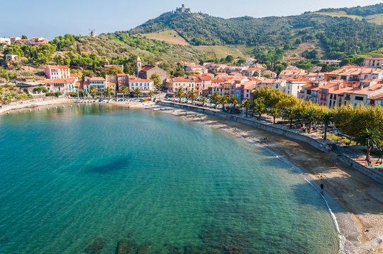 Collioure, côte vermeille, Occitanie.