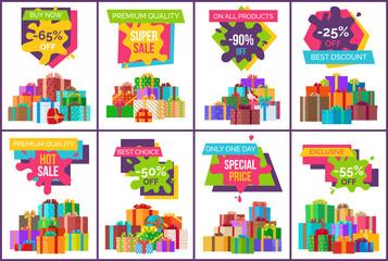 Fototapeta Buy Now Best Sale Exclusive Product Set of Posters