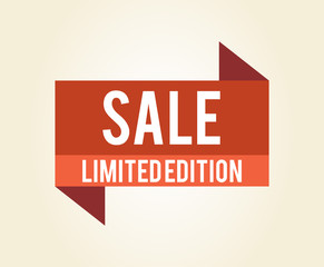 Sale Limited Edition Icon Vector Illustration
