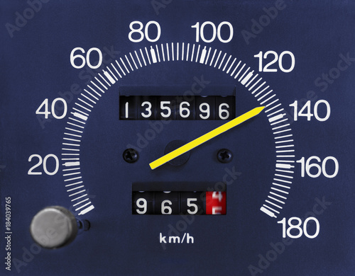 Automobile Speedometer and Odometer