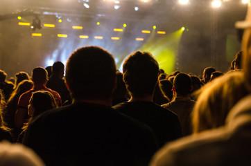 christian music concert and worship